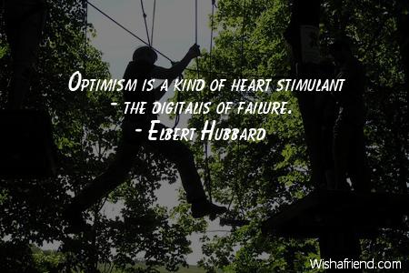 optimism-Optimism is a kind of