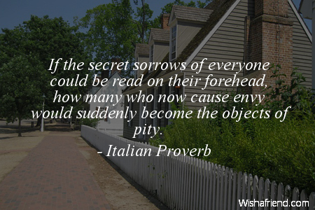 perspective-If the secret sorrows of