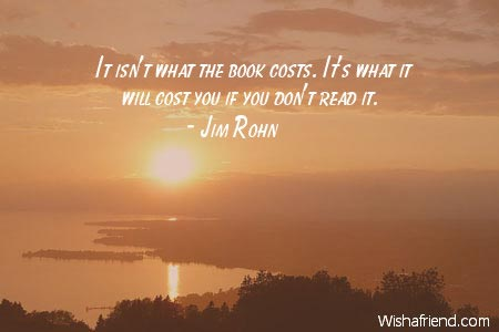 positive-It isn't what the book