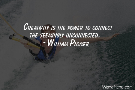 power-Creativity is the power to