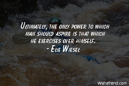 power-Ultimately, the only power to