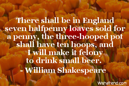 prosperity-There shall be in England