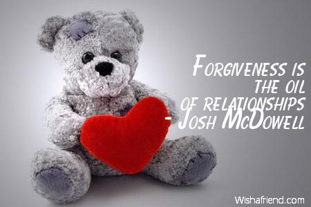 relationship-Forgiveness is the oil of