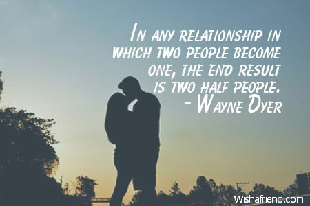 relationship-In any relationship in which