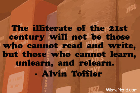 school-The illiterate of the 21st