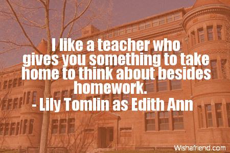 school-I like a teacher who