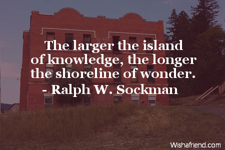 school-The larger the island of
