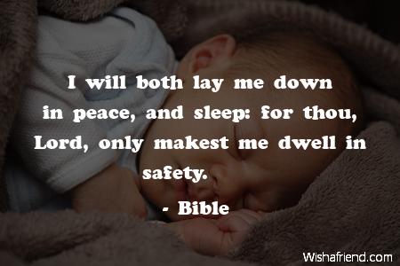 sleep-I will both lay me
