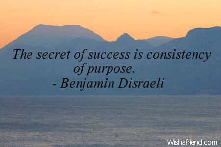 success-The secret of success is