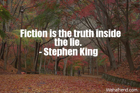 truth-Fiction is the truth inside
