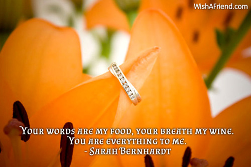 valentinesday-Your words are my food,