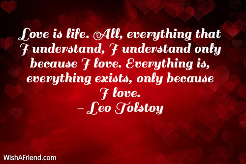 valentinesday-Love is life. All, everything