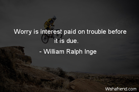 worry-Worry is interest paid on