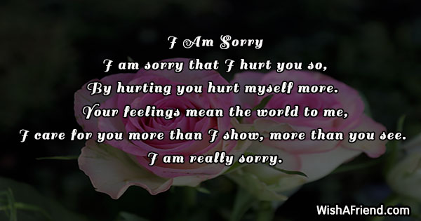 Apology letter to a friend for being mean  5 Apologies That