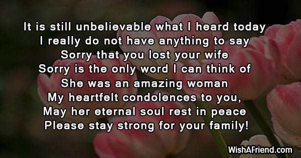 sympathy-messages-for-loss-of-wife-23003