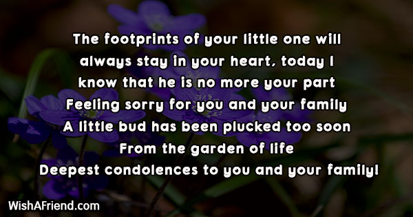 sympathy-messages-for-loss-of-child-24935
