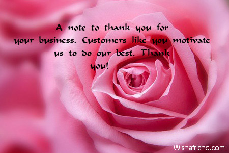 A note to thank you for Business Thank You Notes – Business Thank You Notes