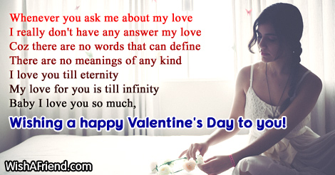 18105 Romantic Valentines Day Love Messages