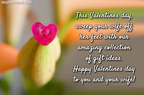 this valentines day sweep your wife valentines day message valentines message for wife