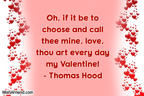 oh if it be to choose valentine s day sayings
