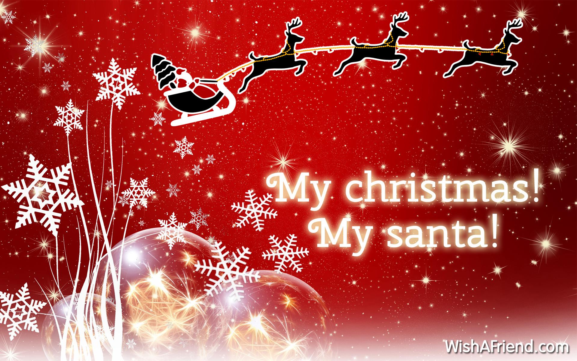 My Christmas! My Santa!